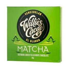 Willie's Cacao - Czekolada biała - Matcha Kotobuki Green Tea - 50 g