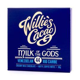 Willie's Cacao - Czekolada 44% Milk of the Gods - 50 g