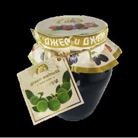 Konfitura z zielonych orzechów 60% - 360 g