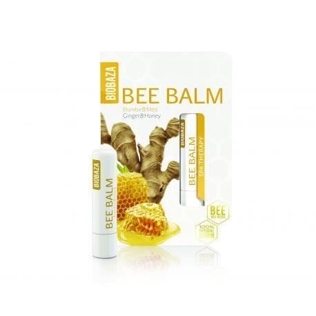 BIOBAZA BEE BALM - sztyft do ust - imbir i miód - 4,5g
