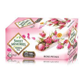 Herbata z płatków róży damasceńskiej - 20 saszetek