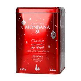 Monbana czekolada w proszku piernikowa De Noel - 250g