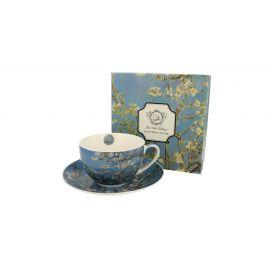 Filiżanka ze spodkiem - Van Gogh Almond Blossom - 280 ml