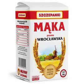 Mąka Szczepanki Wrocławska typ 500 - 1 kg