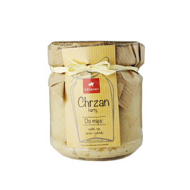 Chrzan tarty - słoiczek 190 g - Eterno