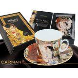 Filiżanka ze spodkiem - G. Klimt Trzy Okresy Życia Kobiety - 250 ml - CARMANI