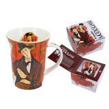 Kubek z pudełkiem - Modigliani Mario Varvogli - 350 ml - CARMANI