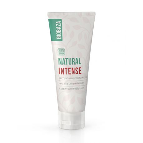 BIOBAZA NATURAL INTENSE - intensywny krem do twarzy i ciała - 100ml