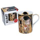 Kubek Classic New - G. Klimt Pocałunek - 400 ml - CARMANI