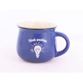 Kubek ceramiczny - Think Positive - 250 ml