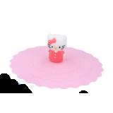 Pokrywka silikonowa na kubek - Hello Kitty