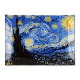 Talerz dekoracyjny - Van Gogh Starry Night - 20x28 cm
