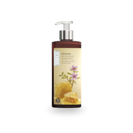 BIOBAZA BODY & HAIR 3 in 1 - żel pod prysznic z miodem Manuka - 400ml