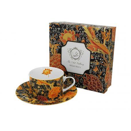 Filiżanka ze spodkiem - William Morris Cray Floral - 240 ml