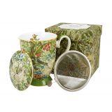 Kubek z zaparzaczem - William Morris Golden Lily - 325 ml