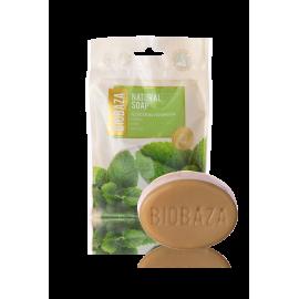 BIOBAZA NATURAL SOAP - mięta 90g