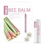 BIOBAZA BEE BALM - sztyft do ust - Anty-Agening Therapy Aloe Vera&Rabarbar&Kolagen