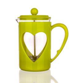 Dzbanek zielony z tłokiem - Darby - 800 ml
