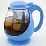 Dzbanek z zaparzaczem - niebieski - 1400 ml