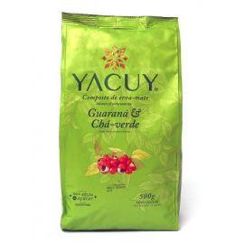 Yerba Mate Yacuy Guarana Cha Verde - 500 g