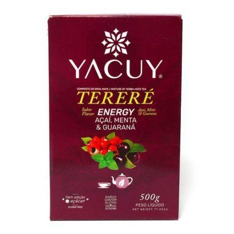Yerba Mate Yacuy Terere Energy Guarana - 500 g