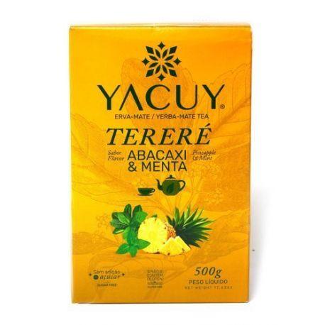 Yerba Mate Yacuy Terere Pineapple Mint - 500 g