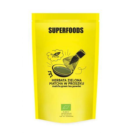 Herbata zielona Matcha w proszku - 500 g - Superfoods