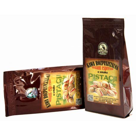 Czarna Kawka - kawa rozpuszczalna pistacjowa - 75 g