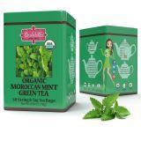 Brew La La - ORGANIC MOROCCAN MINT GREEN TEA - w saszetkach 50 x 1,5 g