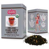 ORGANIC EARL GREY GREEN TEA - w saszetkach 50 x 1,5 g