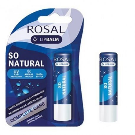 ROSAL - sztyft do ust - so natural -4,8g
