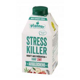 PFANNER Stress Killer - napój wieloowocowy z dodatkiem konopi i cynamonu - 500 ml