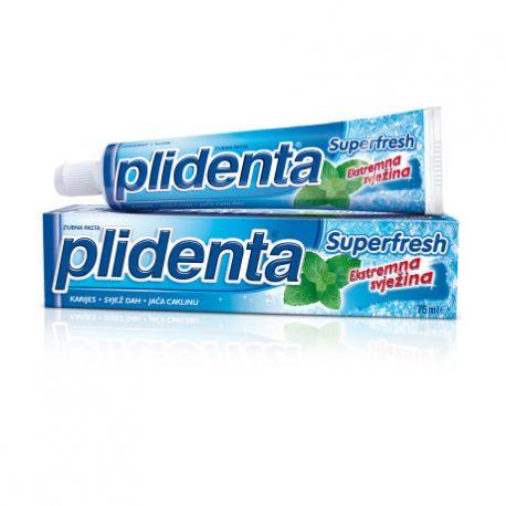 PLIDENTA - pasta do zębów - Superfresh - 75 ml