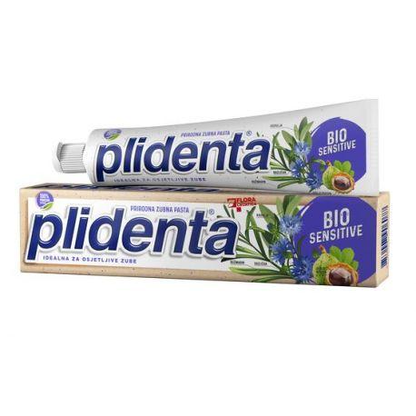 PLIDENTA - pasta do zębów - BioSensitive - 75 ml