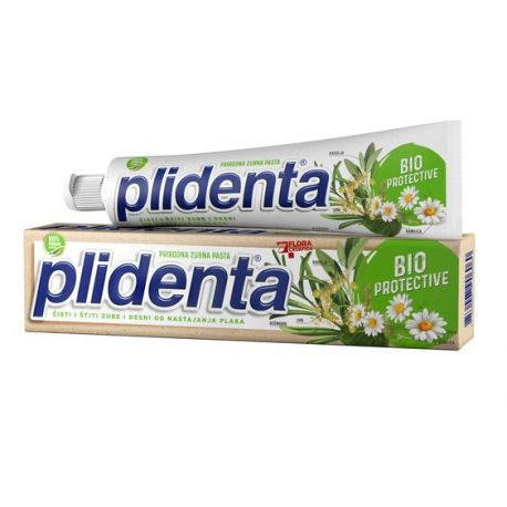 PLIDENTA - pasta do zębów - Bioochronna- 75 ml
