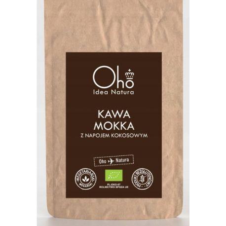 Oho idea Natura Ekologiczna kawa rozpuszczalna z napojem kokosowym