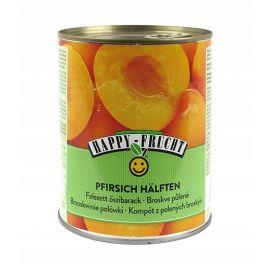 Happy Frucht - brzoskwinie połówki w syropie - 820 g
