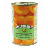 Happy Frucht - połówki moreli w syropie - 410 g