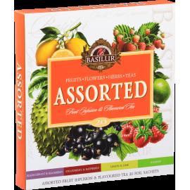 Assorted FRUIT INFUSION & FLAVOURED TEA 20 saszetek