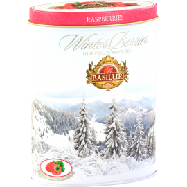 WINTER BERRIES - RASPBERRIES puszka 100g