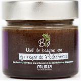 Bio miód nektarowo-spadziowy leśny z czarnym czosnkiem i acerolą - 250 g - Muria