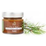 Bio miód nektarowo-spadziowy leśny z pyłkiem pszczelim - 250 g - Muria
