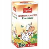 Apotheke - Rumianek - herbatka dla dzieci - 20x1,5 g