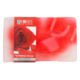 Nature of Agiva - Red Rose - Mydło ręcznie robione różane - 75 g