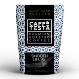CAFFE TESTA Smooth Decaf Arabica 80% BEZ KOFEINY - ziarno 1 kg