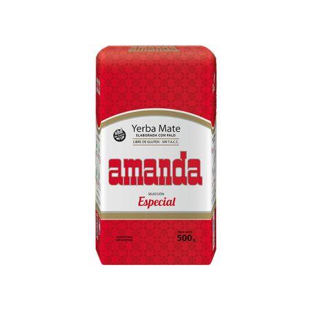 Amanda - Yerba Mate Elaborada Con Palo - Seleccion Especial - 500 g