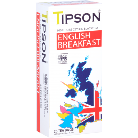 ENGLISH BREAKFAST w saszetkach 25x2g