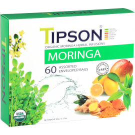 Organic Moringa Assorted 60 saszetek