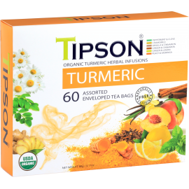 Organic Turmeric Assorted 60 saszetek