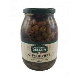 Delizia - oliwki drylowane Riviera - 1000 g